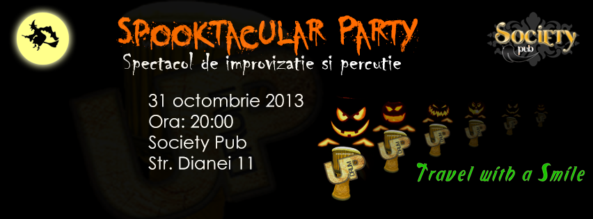 De Halloween te invit la Spooktacular Party