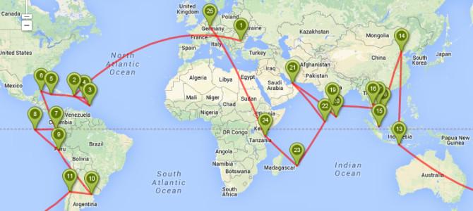 Tur in jurul lumii devenit realitate: Un an Hai-Hui