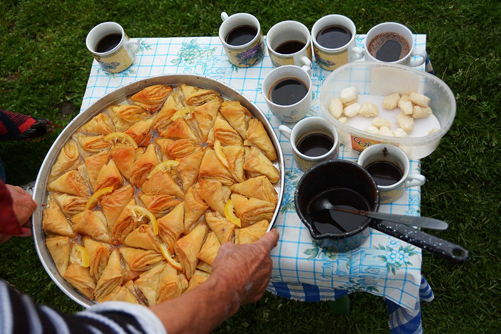 Baclava si cafea turceasca