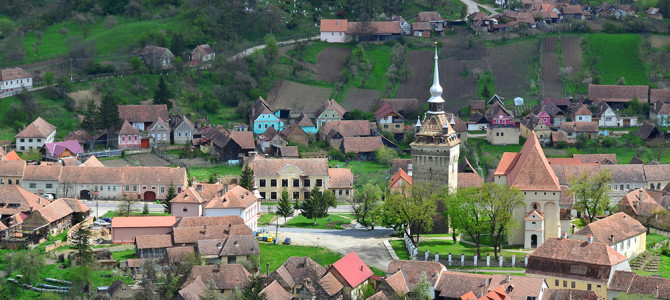 Saschiz sau cetatea uitata a Transilvaniei