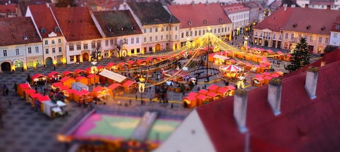 Pietele de Craciun ale Romaniei: Sibiu, Brasov si Bucuresti