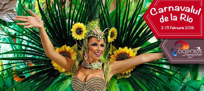 Rio de Janeiro: hai la plaja si la Carnaval in luna februarie!