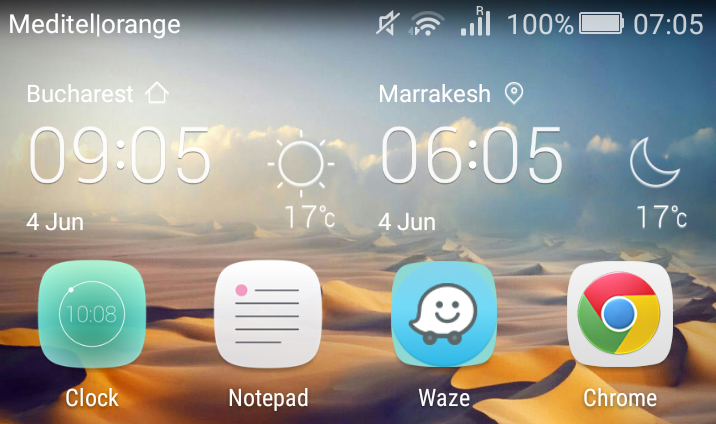 screen shot morning marrakesh