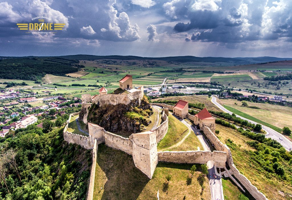 Cetatea Rupea. Calin Stan - TheDrone.ro