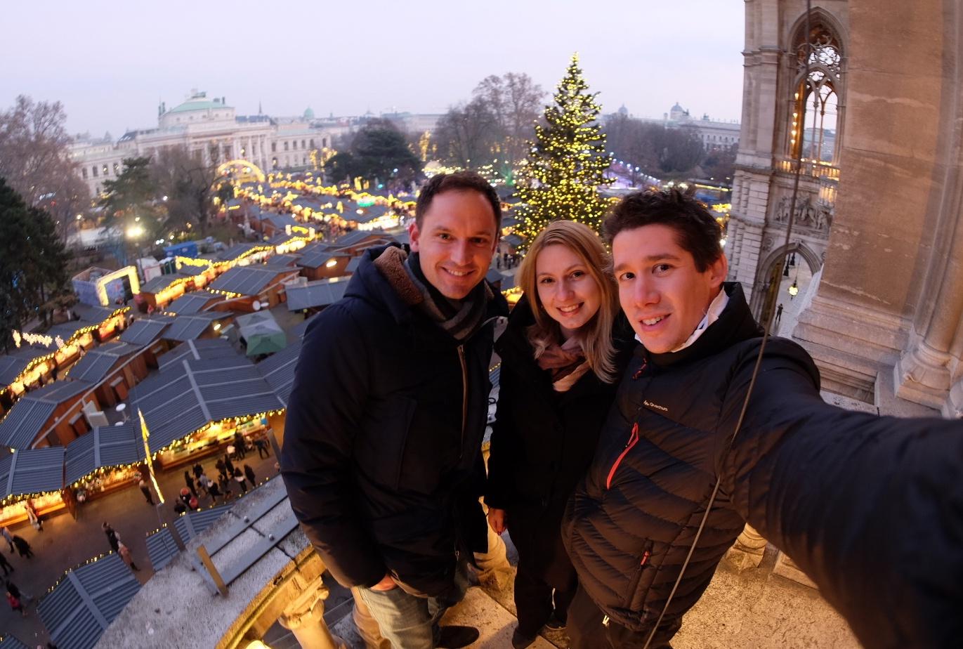 Alaturi de Nikolaus Graeser de la Vienna Tourism Board