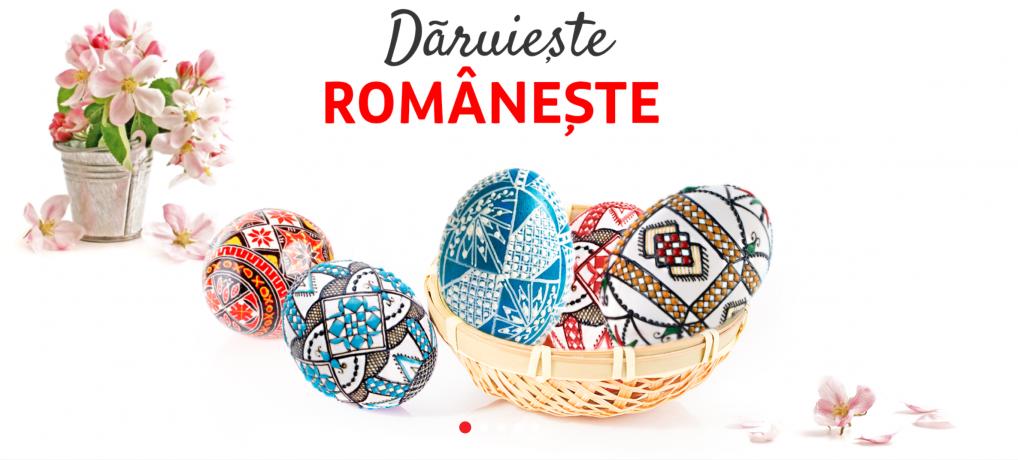 Daruieste Romaneste: 6 + 1 idei de cadouri de Paste