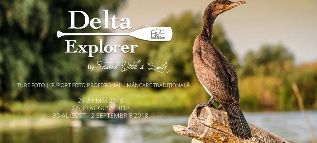 Hai in taberele #DeltaExplorer 2018: fotografie, canoe, gastronomie