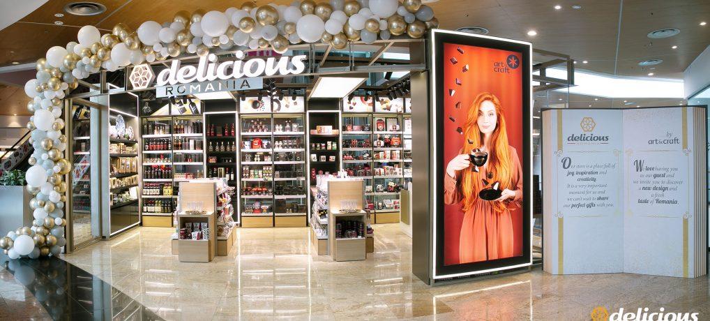 S-a deschis Delicious by Art & Craft în Băneasa Shopping City