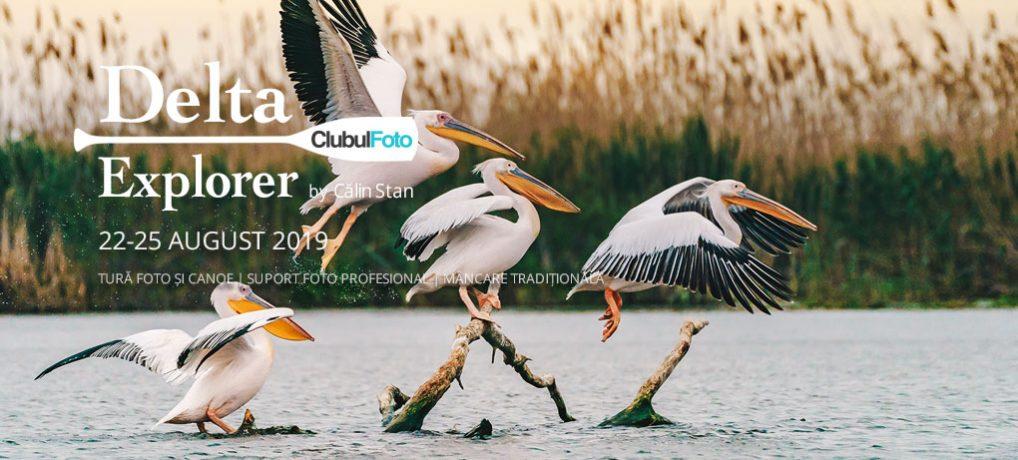 #DeltaExplorer de vară – tabără de fotografie și canoe