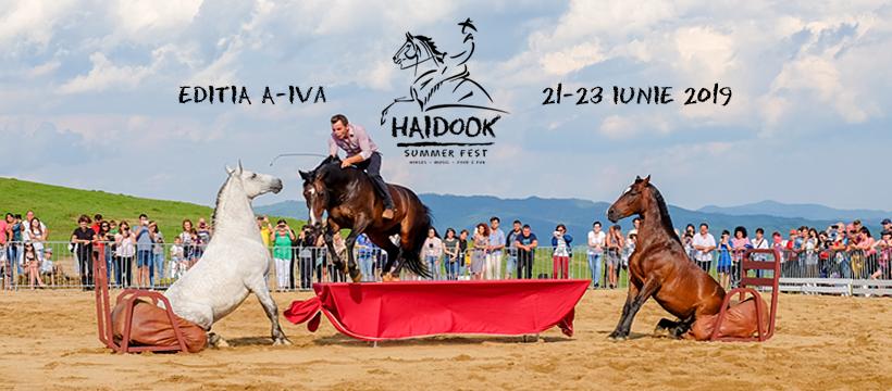 Haidook Summer Fest 2019: show-uri ecvestre și acrobații pe bicicletă