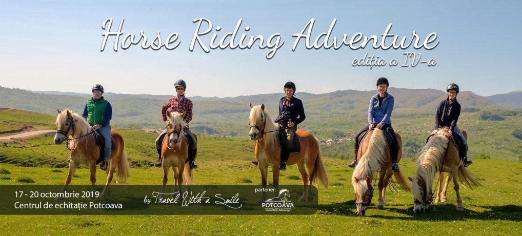 """Hai în tabăra de echitație """"Horse Riding Adventure"""" ediția a patra: 17 – 20.10.2019"""