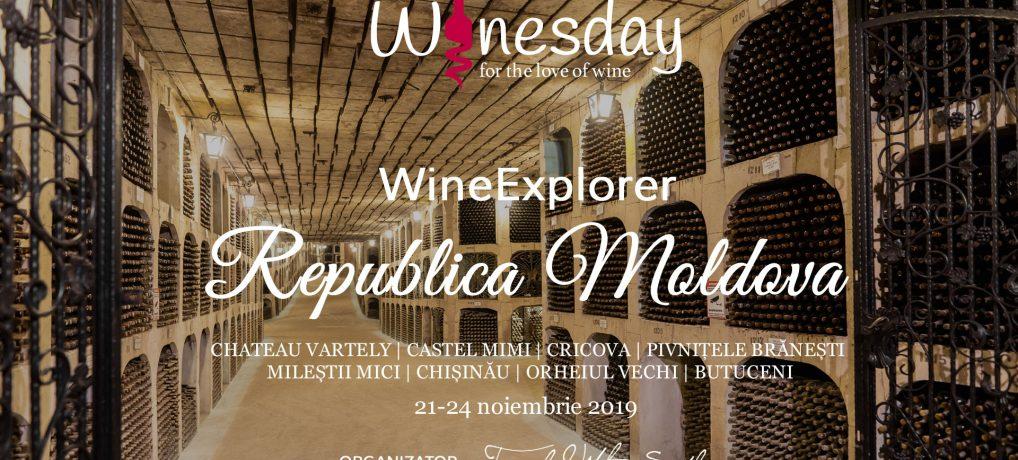 Wine Explorer: Republica Moldova 21 – 24 noiembrie 2019